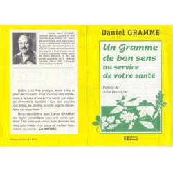 Un Gramme de bon sens au service de votre santé - Daniel Gramme