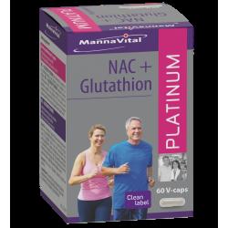 NAC+Glutathion 60 capsules...