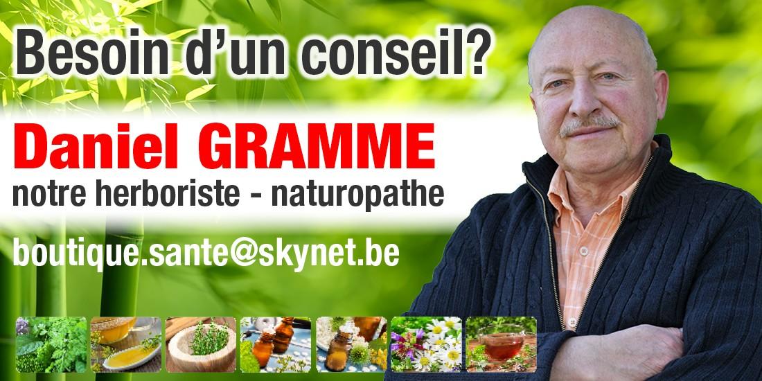 Daniel Gramme, herboriste naturopathe